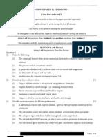 ICSE chemistry paper 2
