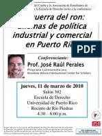 La Guerra del Ron Jose Raul Perales