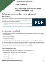 Capecitabina en Cancer de Pancreas