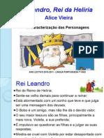 Leandro Rei Da Heliria - Caracterização Das Personagens2