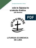 Liturgia Ecumenica de Lima