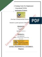 Vocational Training Center for Employment Generation(VTCEG) Agribusiness