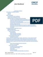 OMCP-Certification Handbook