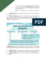 Esterilización y desinfeccion