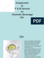 Alcohlic Beverages