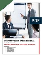 Informe Cultura y Clima Organizacional - unt