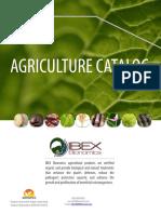 IBEX Bionomics Agriculture Catalog