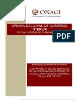 01 PIP 311591 Gobernación Distrital Chiara, APU 2