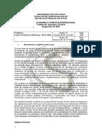 Programa Economia y Comercio Internacional