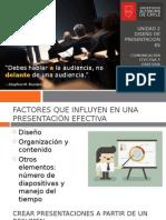 UNIDAD 2 Presentaciones Efectivas (Inicio)