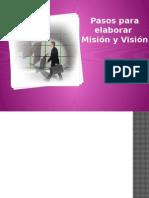 Pasos Para Elaborar Mision Vision