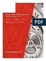 Bain Worldwide Luxury Goods Report 2014