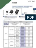 Datasheet Sensores Magneticos