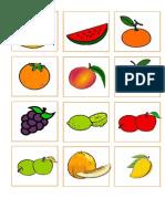 Frutas y Animales