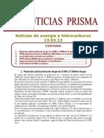 Noticias de Energa e Hidrocarburos 13.03.2013
