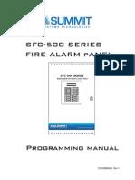 Sm-sfc-500 Manual de Programacion