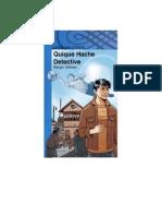 Quique Hache Detectives - Ensayo