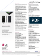 LG Optimus L70 MS323 Spec Sheet (Spanish)