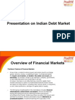 Presentation on Indian Debt Market
