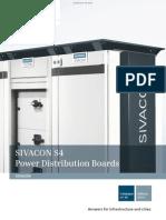 SIVACON S4 Power Distribution Boards Catalog LV 56 2011 4721