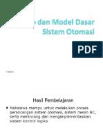 1) Konsep Dan Model Dasar Sistem Otomasi