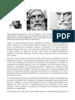 BIOGRAFIAS DE PRINCIPALES FILOSOFOS