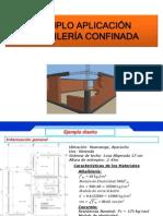 Ejemplo en Albañilería Confinada