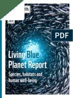 WWF Living Blue Planet Report 2015