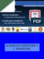 Manual para Ecografias  i Trimestre