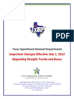 TxIRP Renewal Instruction Booklet