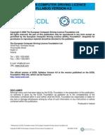 ECDL Syllabus 4.0engl