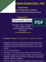 Marquette Advisors - Georgia Gaming Study - 9-14-15