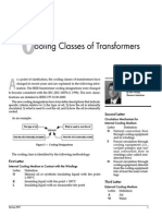 Cooling Classes of Transformers