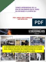 4. Lecciones Aprendidas de La Investigación de Incendios - Jorge Vera