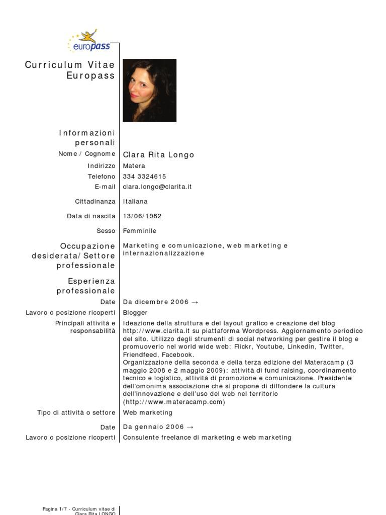 1526411630v1 - Europass Curriculum Vitae