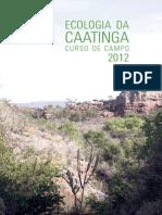 Livro Curso de Campo Caatinga 2012