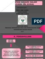 Pendekatan Proses dalam Pembelajaran IPA (Kimia)