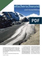 Gletscherschwund und Vorzeitklima