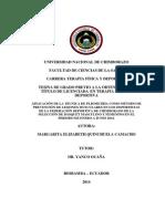 Aplicación de La Técnica de Pliometría Como Método de Prevención de Lesiones Musculares en Los Deportistas de La Federación Deportiva de Chimborazo de La Selección de Básquet Masculino y Femenino en El Periodo De