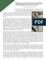 (2) LA NUEVA UBICACIÓN GEOGRÁFICA DE LA UASD-LA VEGA AFECTARÁ LA CALIDAD DE VIDA DE LOS DOCENTES, PERSONAL ADMINISTRATIVO, DE APOYO Y ESTUDIANTES POR LOS NIVELES DE CONTAMINACIÓN ACUMULADOS EN DICHO LUGAR
