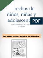 AIDA KEMELMAJER_Derechos de niños, niñas y adolescentes_SALA 3