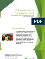 Colorantes en La Industria Textil