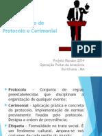 Mini Curso Cerimonial e Protocolo
