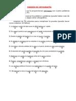 Examen Ortografia Ingreso Guardia Civil