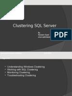 Clustering SQL server Active-active-passive