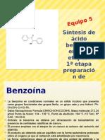 Sintesis de acido bencilico