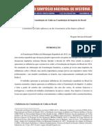 Influências da Constituição de Cádiz na Constituição do Império do Brasil