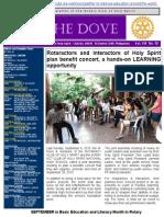 RC Holy Spirit E-newsletter the DOVE Vol. VIII No. 10 September 8, 2015