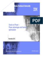 Oracle on Power Advantages