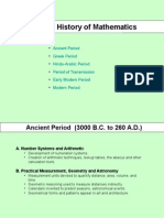 History of Math Powerpoint
